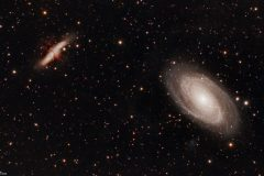 M81 and M82 - Bode's Galaxy and the Cigar Galaxy