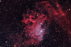 IC405 - The Flaming Star Nebula