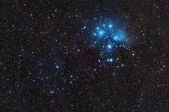 M45 - The Pleiades (wide field)